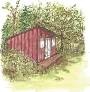 rustic cabin c